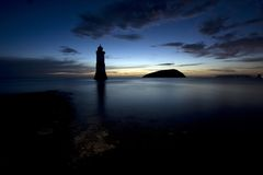 Penmon Point Sunrise Stock Photo