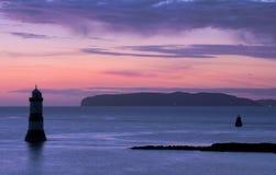 Penmon Point Sunrise Royalty Free Stock Image