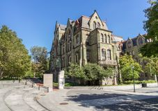 Penn College Hall Royaltyfri Fotografi