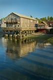 Penn Cove Reflections, Coupeville, Washington State royalty-vrije stock foto