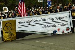 Penn High School Marching Kingsmen Imagem de Stock