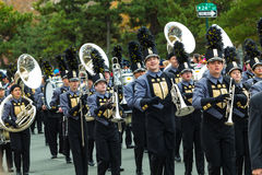 Penn High School Marching Kingsmen Marching Band Royalty Free Stock Image
