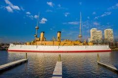 Penn Landing in Philadelphia royalty-vrije stock afbeeldingen