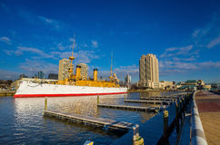Penn Landing in Philadelphia stock photo