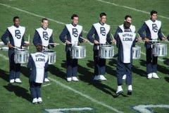 Penn State Band på Beaver Stadium Arkivfoton