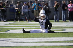 Penn State drum major Stock Images