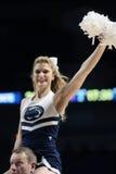 Penn State hejaklacksledarear underhåller folkmassan Royaltyfria Bilder