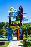 Penn State Hershey Art Sculpture Photographie stock