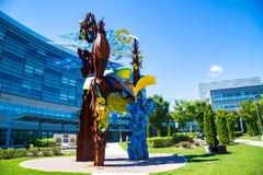 Penn State Hershey Display Sculpture Photo libre de droits