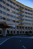 Penn State Hershey Medical Center Entrance. Hershey, PA - August 22, 2016: Penn State Hershey Medical Center is a large complex that includes a Children`s Royalty Free Stock Image