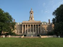 Penn State Old Main. Old Main building at Penn State University Stock Photo