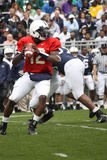 Penn State QB Kevin Newsome Royalty Free Stock Photography