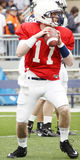 Penn State quarterback Matthew McGloin Royalty Free Stock Images