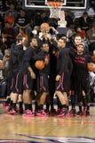 Penn State's basketball team Stock Photography