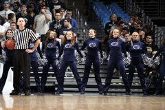 Penn State's cheerleaders Stock Photos