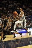 Penn State's D.J. Jackson goes up for a layup. Penn State's D.J. Jackson Stock Images