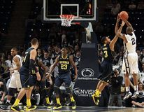 Penn State's D. J. Newbill Royalty Free Stock Photo