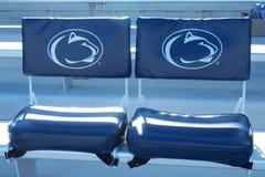 Penn State Seats au Beaver Stadium Images libres de droits