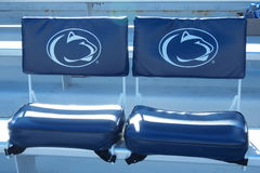Penn State Seats på Beaver Stadium Royaltyfria Bilder