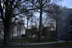 Penn State, université de loi de Dickinson, Carlisle, Pennsylvanie, Etats-Unis Photos stock