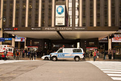 Penn Station / Madison Square Garden Stock Image