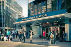 Penn Station New York City Stock Photography
