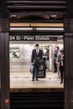 Penn Station NYC Fotografía de archivo