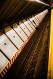 Penn Station. Subway at Pennsylvania Station New York City Royalty Free Stock Photo