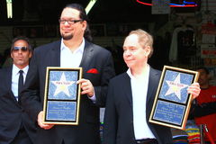 Penn and Teller Royalty Free Stock Photos