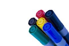 Penna 1 di colore fotografia stock