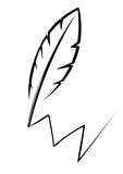 Penna Illustrazione di Stock