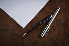 Penna classica Immagini Stock
