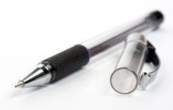 Penna con un hubcap fotografie stock libere da diritti