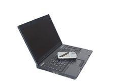 Penna del computer portatile PDA Fotografia Stock