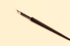 Penna del metallo e di legno Fotografia Stock
