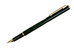 Penna dell'esecutivo dell'oro Fotografia Stock