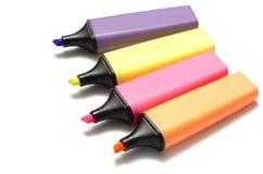 Penna dell'evidenziatore Immagine Stock