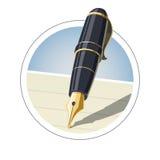 Penna dell'inchiostro illustrazione di stock