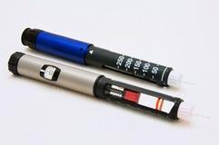 Penna dell'insulina Fotografie Stock