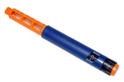 Penna dell'insulina Immagini Stock