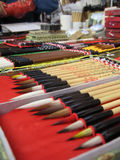 Penna della spazzola Fotografie Stock Libere da Diritti