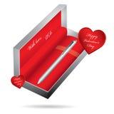 Penna di ballpoint del metallo royalty illustrazione gratis