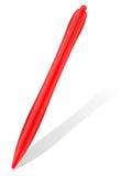 Penna di Ballpoint e shodow 4 illustrazione di stock