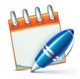 Penna di ballpoint elegante illustrazione di stock