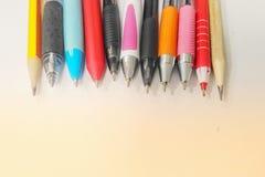 Penna di colore Immagine Stock