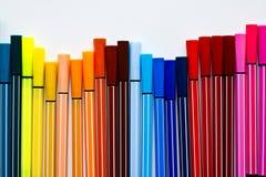 Penna di colore Fotografia Stock Libera da Diritti