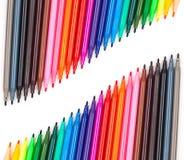 Penna di colore Fotografie Stock Libere da Diritti