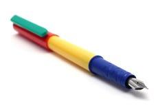 Penna di fontana Fotografia Stock