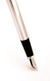 Penna di fontana Fotografie Stock