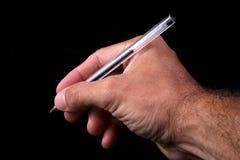 Penna di palla Fotografia Stock